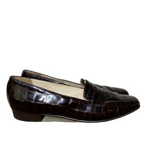 Bally | Addie patent leather loafers 8 1/2 M